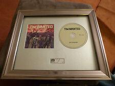 The Wanted - PERSONALMENTE FIRMADO/Autografiada 'Base' CD Armazón Presentación