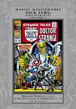 Nick Fury Agent of SHIELD Marvel Masterworks Vol 2 by Jim Steranko 2009 HC OOP