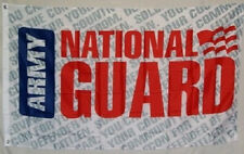 3x5 3'x5' Wholesale Set (2 Pack) Army National Guard Letters Flag Banner