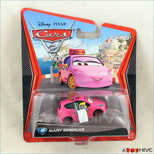 Disney Pixar Cars 2 Mary Esgocar #49 worn dented package