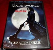 UNDERWORLD 1 dvd KATE BECKINSALE vampire lycan werewolf war MICHAEL SHEEN horror