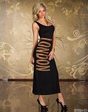 Party Club Wear Elegant London Prom Maxi Cocktail Evening Dress UK size 10-12