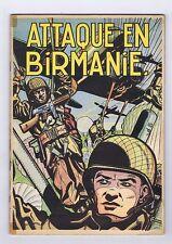 Buck Danny 6. Attaque en Birmanie. 1953 2e édition. TTB