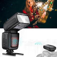 DSLR Camera Flash Speedlite Light + 2.4G Wireless Trigger for Canon Nikon Sony