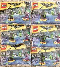 LEGO The Batman Movie Polybag Lot #30523: The Joker Battle Training - X6 - NEW