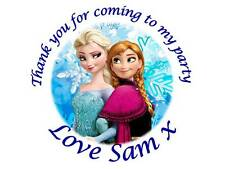 35 Personalised Frozen Elsa Stickers 3 for 2 Birthday 034  Party Thank You