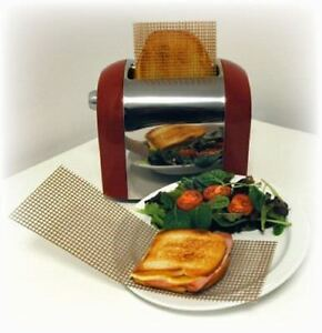 TOASTER MESH from Sealapack Re-usable Mesh Cooking Toast Sandwich Bag UK