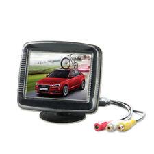 "8,9 cm LCD TFT 3,5"" LCD Monitor Rückfahrsystem Auto KFZ Auto kleiner für Kamera"