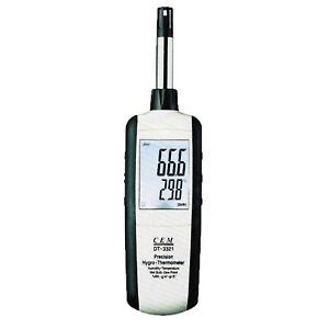 CEM DT-3321 Hygrometer Thermometer Dew Point Wet Bulb Dry Bulb Psychrometer