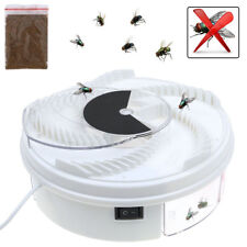 Electric Fly Trap Device w/ Trapping Food White USB Cable US Insect Killer Fast