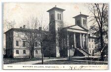 1905 Wofford College, Spartanburg, SC Postcard