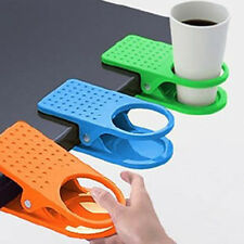 Cheap! Desk Cup Clip Table Home Office Use Coffee Drink Water Clip On Cup Holder