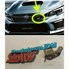 2018 - 2019 genuine Subaru OEM WRX STI front grille emblem badge decal  VAB JDM
