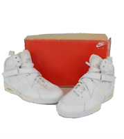 NOS Vintage 90s Nike Air Ascension High Sneakers Shoes White Womens Size 9.5