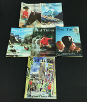 Vintage Lot of 6 Ford Times Magazines  1965-1967