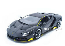 Bburago 1:18 Lamborghini LP770-4 Centenario diecast metal model car new Gray