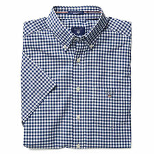 Patternless Short Sleeve Casual Shirts & Tops for Men GANT