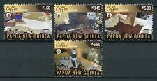 Papua New Guinea PNG 2018 MNH Coffee Processing Beans 4v Set Nature Stamps