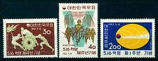 South KOREA 1962 May Revolution 16th Anniv.  Scott # 353-355 mint MLH