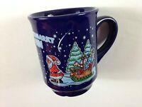 Weihnachtsmarkt Bonn Coffee Mug Cup Christmas Lips Santa Claus Pulling Sleigh