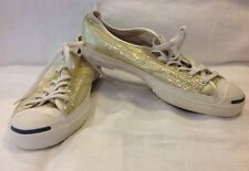 Women's New Converse Jack Purcell  Low Top Yellow  Sequence Shoes Size 9