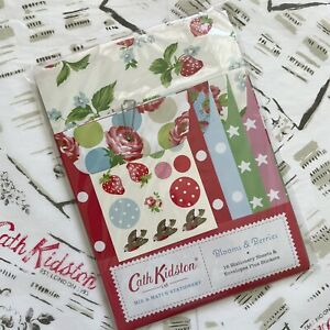 CATH KIDSTON Stationery Letter Note Writing Set 16 Sheets & Envelopes + Stickers