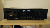 Sony TC-WR635S Cassette Deck With Dolby S Noise Reduction. {{{REFURBISHED}}}