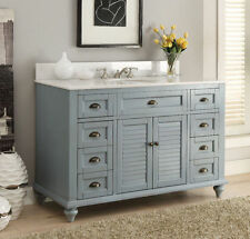 "49"" Benton Collection exclusive Cottage style Glennville Bathroom Vanity 28328BU"