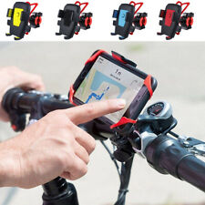 For iPhone Samsung GPS 360° Motorcycle Bike Bicycle Handlebar Mount Holder Auto