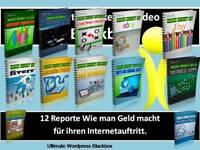 @@@ 12 Reporte Ebooks über wie man Geld macht bei... in deutsch mit PLR Lize @@@