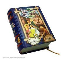 cuentos Clásicos Para Niños Vol I libro miniatura facil leer 13 cuentos ilustrad