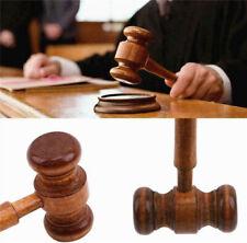 Crafted Court Hammer Gavel Handmade Wooden Auction Lawyer Judge Hammer Gift