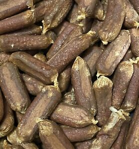Dried Venison Sausages Natural High Quality Natural Dog Treats Gluten Free Chewy