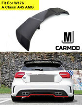 Fit For MERCEDES BENZ W176 A200 A250 A180 A45 AMG Carbon Fiber Rear Roof Spoiler