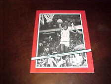 1983 Minnesota Gophers v DePaul Blue Demons NIT Basketball Program