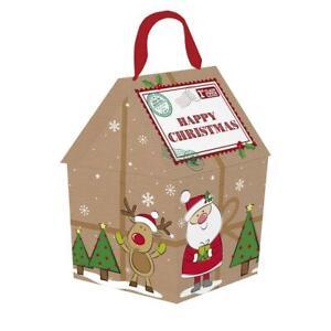 Christmas Eve Treat Box Happy Christmas Gift Box Santa