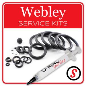 WEBLEY airguns O-Ring seal washer rifle pistol service kit + OPTIONAL GREASE