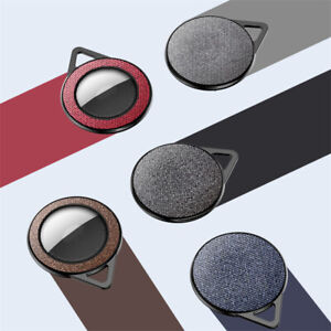 For AirTag Fabric Cloth Protective Leather Case Location Tracker AirTags Cover