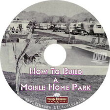 How to Build a Mobile Home Park & Trailer Magazine { Lot Rentals } on DVD