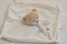 TINY TREASURE BABY HUGS BEIGE CREAM TEDDY BEAR BLANKIE Soft Toy NEXT DAY POST