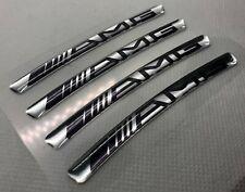 """Set di adesivi 3D per cerchi 22"""" Mercedes AMG. Argento nero. Leggi la descrizion"""