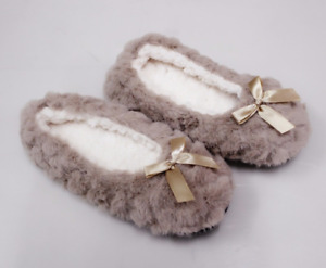 Women Winter Shoes Plush Home Slipper Faux Fur Soft Bottom Warm Indoor Shoes New