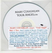 (GU200) Mary Coughlan, Your Angel - DJ CD
