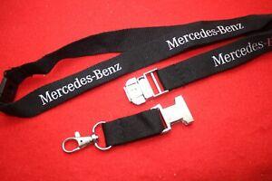 Mercedes Benz Top Schlüsselband original mit Metallschließe Keychain Lanyard