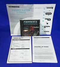 Crusader No Regret - PC Game w/ Manual, Top-Line, Install Guide, Jewel Case
