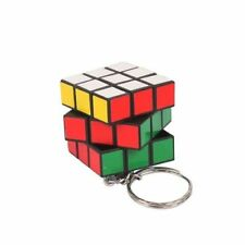 Cube Rubiks Keychain Key Puzzle Ring Rubiks Game winning Gift Official 3 x 3