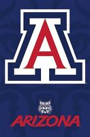 ARIZONA WILDCATS ~ LOGO 22x34 POSTER NCAA University College NEW/ROLLED!