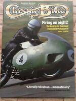 Classic Bike Magazine - October 1986 - Triumph T160 Trident, Matchless G50