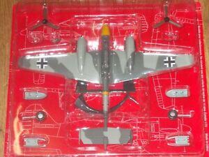 DE AGOSTINI MESSERSCHMITT BF 110 E1  Twin Engine Fighter  WWII 1/72 MINT IN PACK