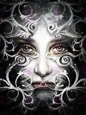 PAINTING FANTASY ORNATE MASKED WOMAN COOL ART PRINT POSTER MP5388A